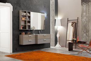 Byte 2.0 comp.06, Armoire de salle de bain peu encombrante avec profondeur réduite