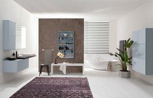 Byte 2.0 comp.07, Armoire de salle de bain modulable, style moderne
