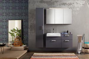 Byte 2.0 comp.09, Composition du meuble de salle de bain avec colonne