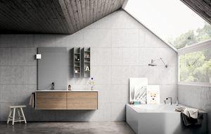Dress 2.0 comp.09, Composition de meubles de salle de bain dans un style moderne