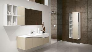 FLY 03, Solution de mobilier pour une salle de bain moderne