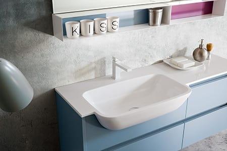 Kami comp.03, Meuble de salle de bain aux dimensions personnalisables