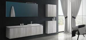 Plane Tecno 01, Meubles de salle de bain simples et élégants