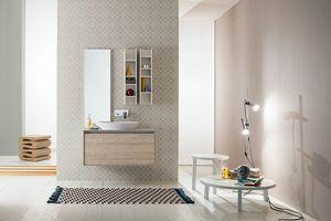 Summit 2.0 comp.02, Composition de la salle de bain avec meuble mural