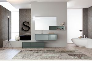 Tender comp.02, Composition de meubles de salle de bain de style moderne