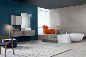 Tender comp.09, Meuble de salle de bain, style contemporain