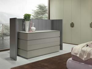 ARES commode comp.02, Commode au design lin�aire