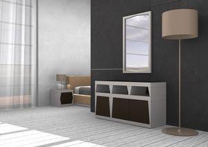 Light, Dresser en stratifié laqué, différentes dimensions et couleurs