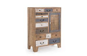 Cabinet 1A-13C Modez, Cabinet équipé de 13 tiroirs