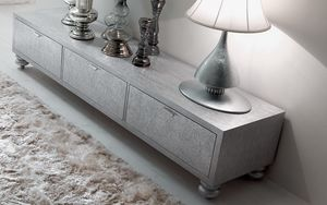 Keope Art. 413, Armoire basse pour salon avec trois tiroirs