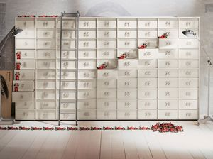 TOOLBOX comp.04, Récipient modulaire avec tiroirs pour la maison et les bureaux