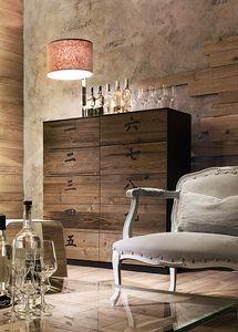 XIAN wood, Cabinet avec 10 tiroirs, en bois, dans le style chinois