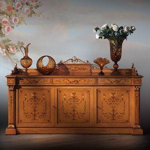 Cabinet 1061, Meubles de style Carlo X