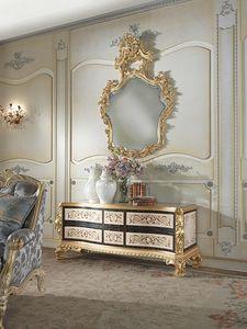 Nobile-D cabinet, Mueble classique en ébène noir