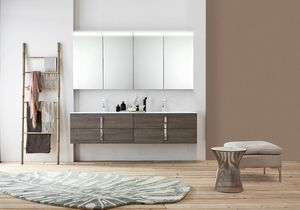Byte 2.0 comp.08, Meuble de salle de bain avec double vasque