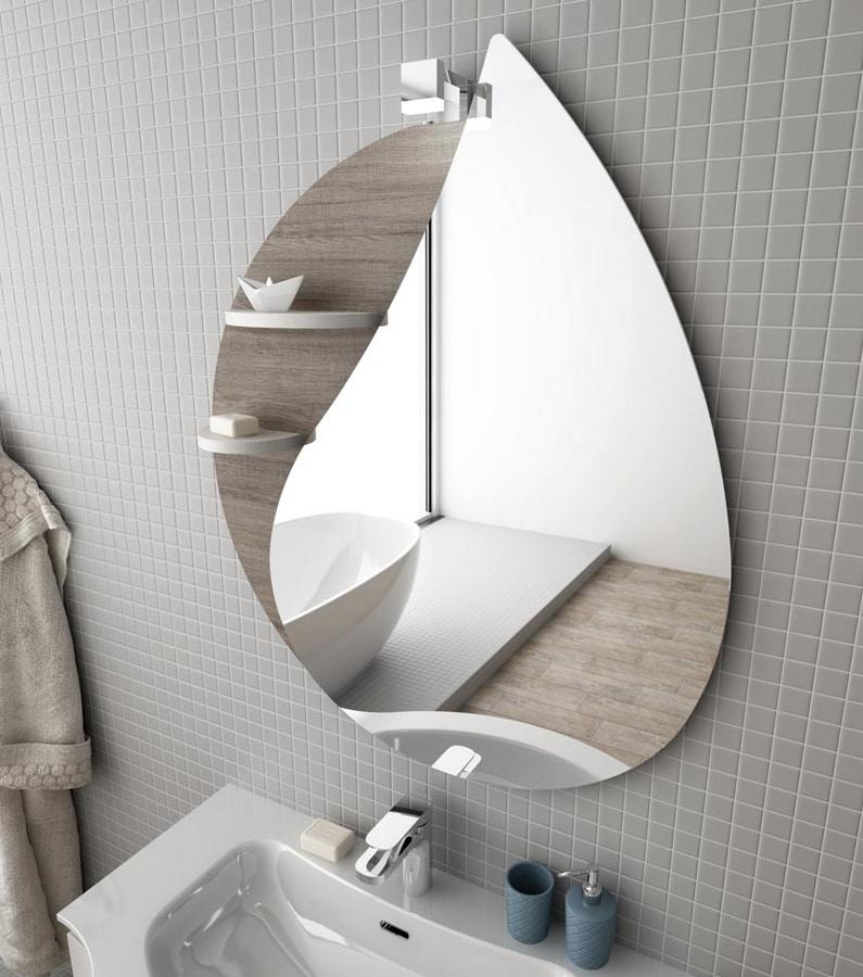 COMPONIBILE 8, Meuble sous-vasque double mural avec tiroirs