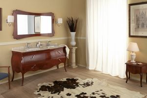 VANITY DUO 02, Armoire de toilette avec double vasque