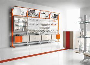 Contemporary - meubles pour magasins d'articles ménagers, Mobilier complet pour magasin d'articles ménagers