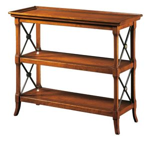 Veronica FA.0091, Petit mobilier avec trois étagères, dans un style luxueux classique
