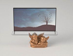 Angeli, Meuble de télévision avec décoration d'anges