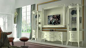 Arabesque, Meuble télé de style baroque