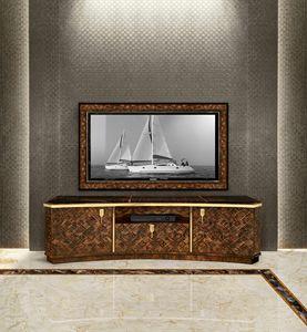 ART. 3292, Meuble de télévision en noyer