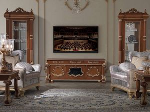 Art. 495, Meuble tv classique en bois