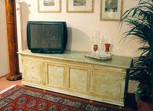 Art. 755, Meuble télé avec laquage beige