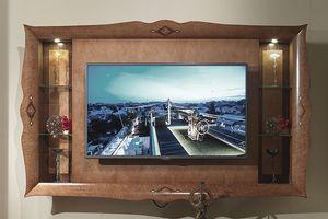 CN03 Charme, Meuble de télévision en bois marqueté, des hôtels de luxe