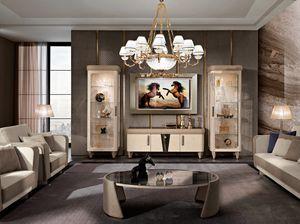 Diamond Composition télévisée, Meuble TV pour salon