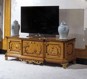 Meuble télé 1309, Meuble de télévision, style chinois de luxe