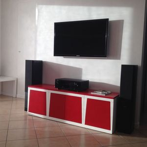 Minired, Modulaire TV-support pour salons