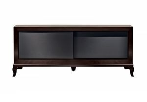 Tzsar tv cabinet, Armoire de télévision avec portes coulissantes