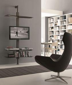 xl83 bruce, TV-pied réglable, mur ou plafond