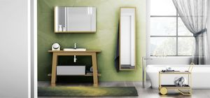 Bath Table 05, Armoire de toilette avec miroir et tablette