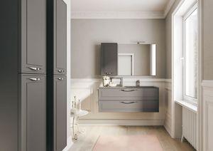 Dressy comp.01, Meubles de salle de bain, avec style traditionnel