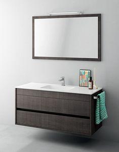 Duetto comp.12, Petite armoire de toilette, avec miroir