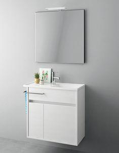 Duetto comp.18, Meubles peu encombrants pour les petites salles de bains