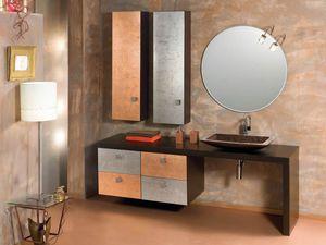 Glamour Rame AM58, Armoire de toilette à la finition fine
