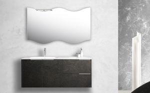 Singoli S 30, Armoire de toilette avec évier intégré