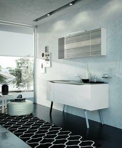 SWING SW-06, Meuble de salle de bain moderne avec miroir
