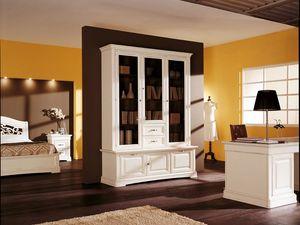 Art.104/L, Armoire de style classique avec des portes et des tiroirs