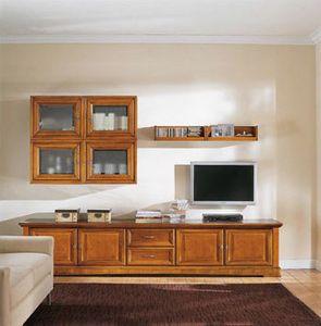 Art.118, Meubles de salon en bois massif, style classique