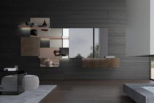 Attilio, Système modulaire avec miroirs