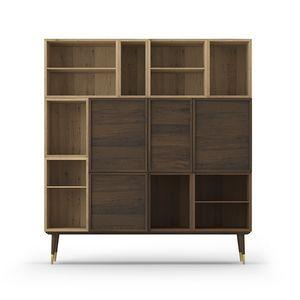 Cabinet Coco 013, Meubles de salon en chêne