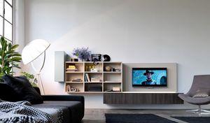 Citylife 01, Système modulaire pour la vie moderne, avec des lumières LED