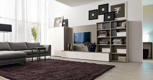 Citylife 41, Mobilier System pour salons avec stand de TV