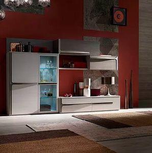 Cleo comp. CL2, Mobilier modulaire pour le salon