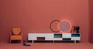 COVER 202, Buffet modulaire de style moderne