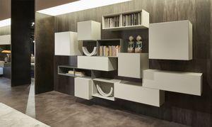 Domino Concept, Meubles muraux de salon